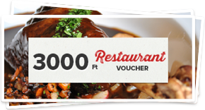 Voucher to restaurant