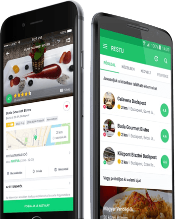 Discover the best restaurants quickly and easily with Restu